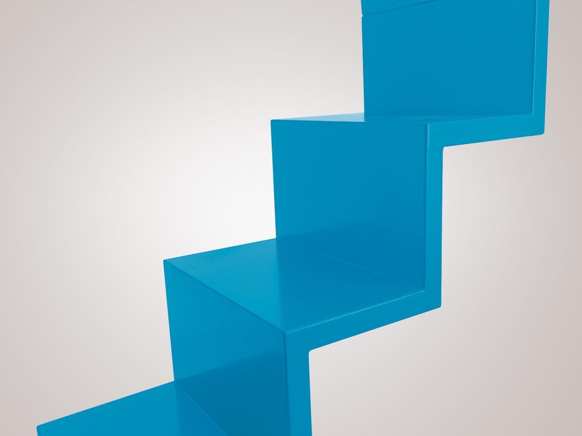Escada Ana Flor Azul